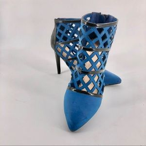 : MADISON  by Shoe Dazzle Caged Heels
